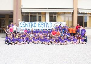 Foto di gruppo centro estivo 2014